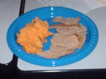 Sweet Potato Dip with Pita Chips