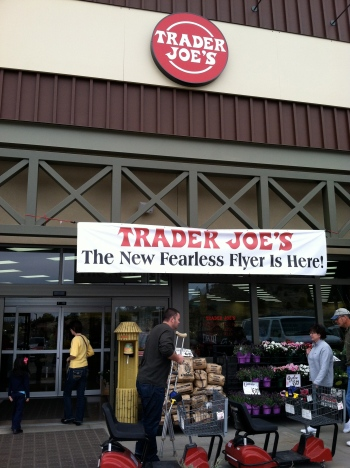 Look what just opened in Prescott! Our very own Trader Joe's.