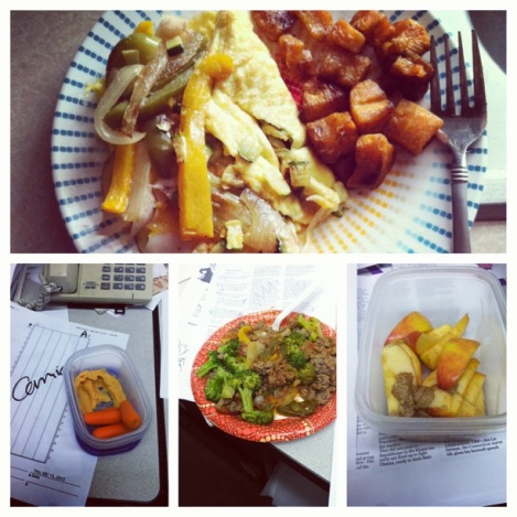 121212 Food Journal Collage