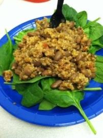 Quinoa Taco Plate