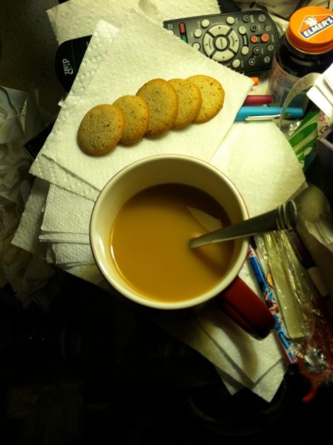 Tea and Vanilla Wafers