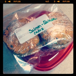 Salmon-Quinoa Cakes