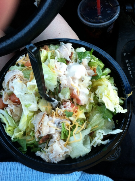 Arby's Chopped Turkey Salad