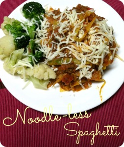 Noodleless Spaghetti