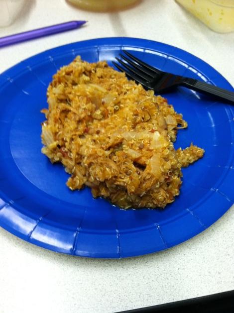 Salsa Chicken with Quinoa