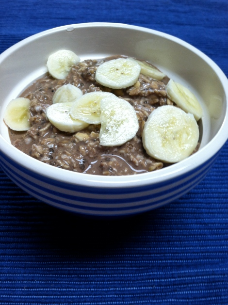Banana Cocoa Oats
