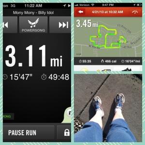 My #run4rhodes virtual 5k