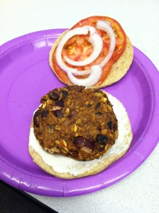 Triple-Bean Chili Burger, Take 2
