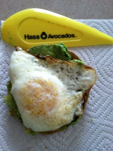 Avocado/egg Breakfast