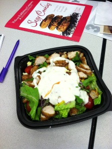 Yes, it's from Chick-fil-A. Pricey but good.