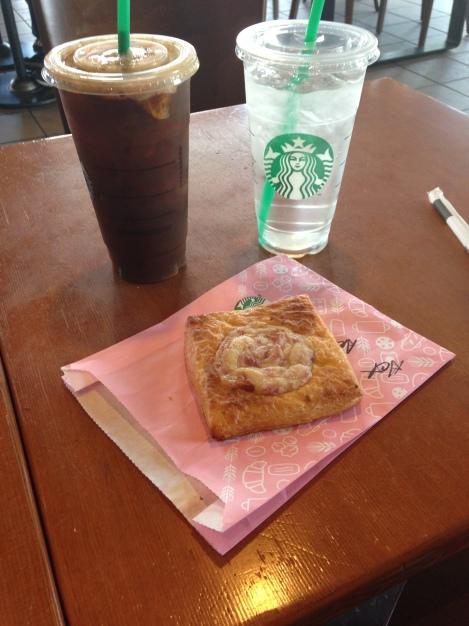 Starbucks snack