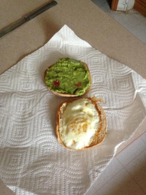 Egg and Guacamole