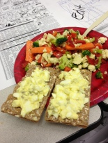 Egg Salad and GFG Raw Salad