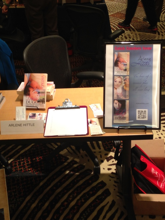Book signing display