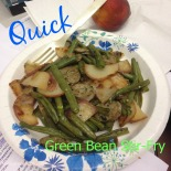 GreenBeanStirFry | Chicklets in the Kitchen