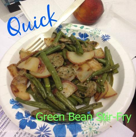 GreenBeanStirFry | Chicklets in the Kitchen